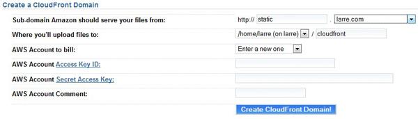 CloudFront Domain