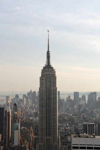 empire state building nypd helicopter