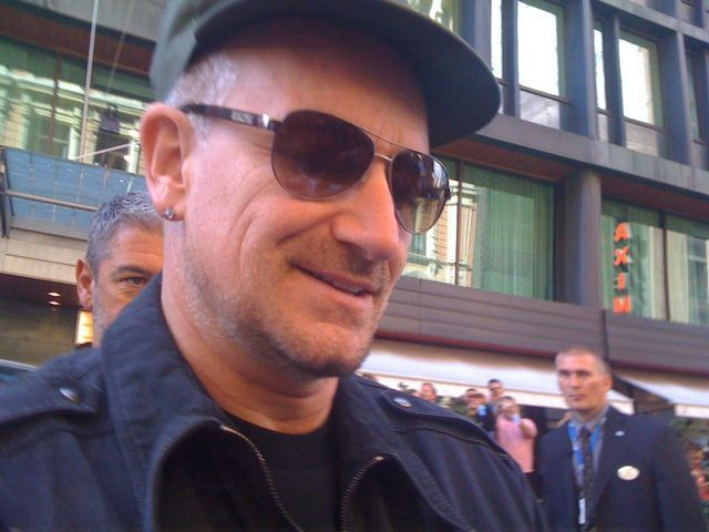 Photos of U2 in Helsinki