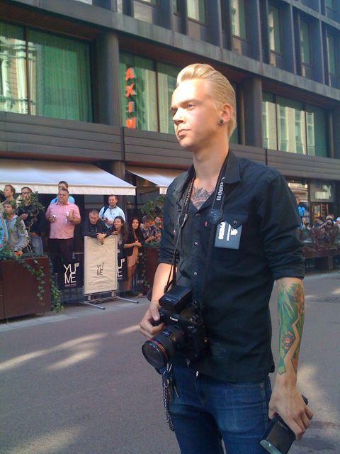 U2 camera crew